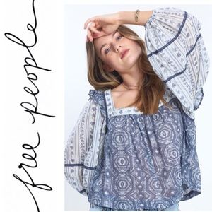 NWT Free People Mostly Meadow Top